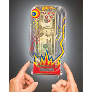 Pinball Money Puzzle