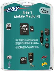 4 in 1 media kit by PNY