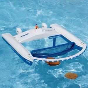 Pool skimmer close up
