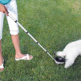 Dog poop catcher