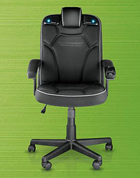Marvelous Pyramat Wireless Pc Gaming Chair Coolest Gadgets Gamerscity Chair Design For Home Gamerscityorg