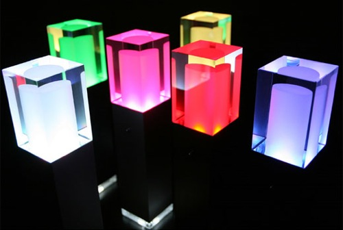 Rainbow Star LED Lamps offer colorful lighting » Coolest Gadgets