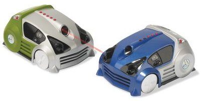 Remote-Controlled Laser Combat Cars
