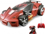 Remote Controlled Transforming Robot Car Triggers RC Drive-Bys