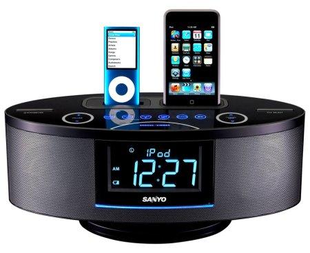 sanyo-clock-radio