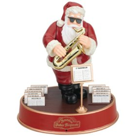 Mr. Christmas Santa Takes Requests