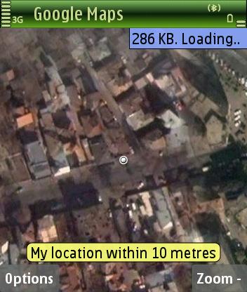 Google Maps GPS demo