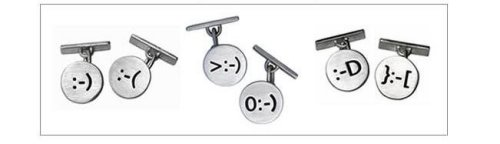 Smiley Cuff Links