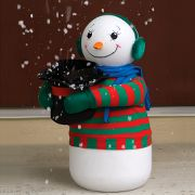 The Snow Flurry Generating Snowman.