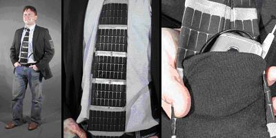 Solar Powered Necktie