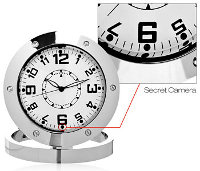 spy clock Spy Clock helps you keep tabs at home when you're absent in body