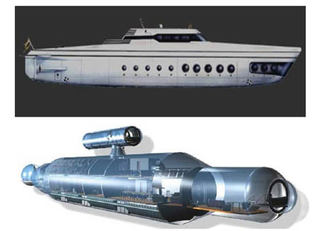 Advertisement: Luxury Submarine For Sale. by Mike D