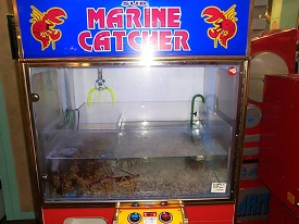 Marine Catcher Matches Claw for Claw