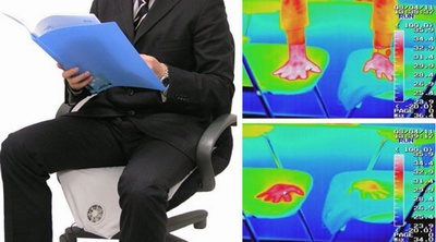 Air conditioned office chair