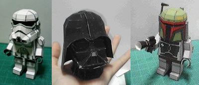 Star Wars Pepakura