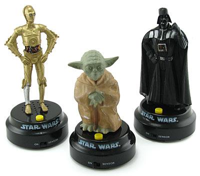 Star Wars Talking Statues