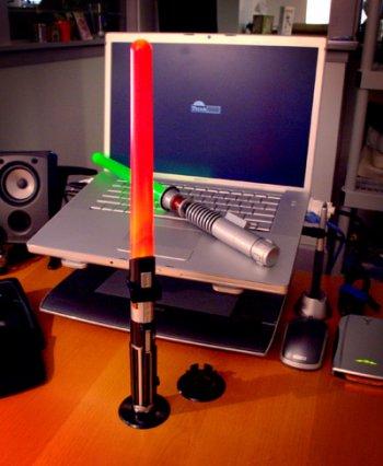 Lightsaber Desk Lamp