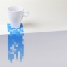 Pixel drink coasters allow you to customize each one