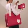 Unique Heart-Endorned Laptop Bags