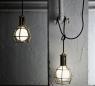 Work Lamp brings garage décor indoors