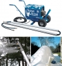 Backyard Snow making machine is compact and affordable
