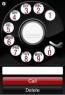 Bakelite rotary phone dialer