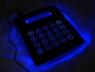 Illuminated Mouse Pad Calculator with USB Hub