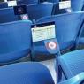 Touchscreens at Oakland A's Stadium