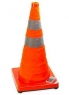 Collapsible Solar Traffic Cone