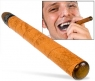 Gamucci electronic flavored cigar includes nicotine