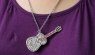 The Jewel Guitar Necklace USB Drive