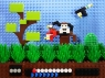 Video Game Screens Made From Lego Bricks