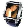 Metallic video watch has OLED display