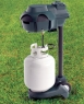 Kill off mosquitoes with a propane tank