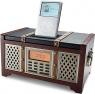 The Retro Clock Radio with iPod Dock