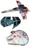 3D Star Wars Starfighter Kites