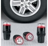Tire pressure caps keep you informed