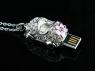 Jewel Car Necklace USB Flash Drive