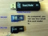 Ultra Mini MicroSD USB Card Reader Keychain