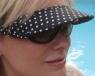 Vizini sun visors for women