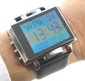 Thanko's MP4 Watch camera