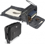 Foldaway Carry On Suitcase Folds To A Satchel For Easy Storage