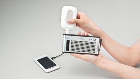 Toshiba Dynario portable fuel cell