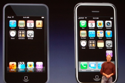 touch vs iphone