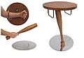 Medieval bedside table