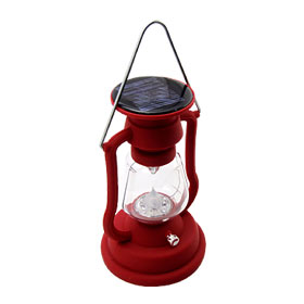 Solar Power LED Vintage Camping Lantern