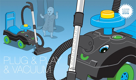 Baby Stroller Vacuum? GoVacuum Ponders...