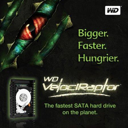 Из рода динозавров. Тестирование жесткого диска Western Digital VelociRaptor WD6000HLHX