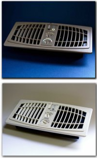 Vent register booster fan coolest gadgets for How to improve airflow in vents