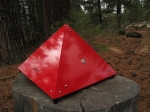 Vertex Pyramid Handmade PC Case